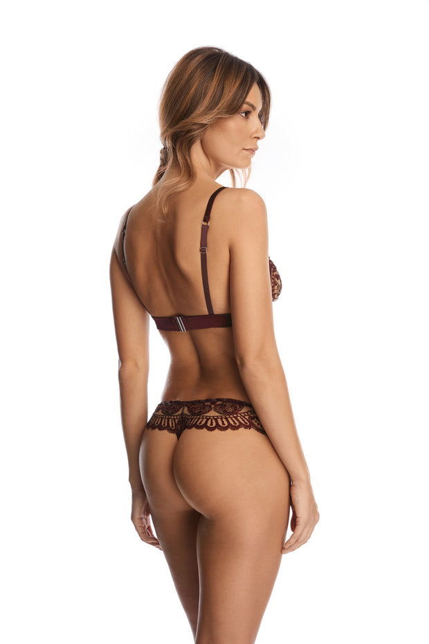Bohemian Sundays Thong Red