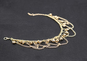 Fashion Lady Bracelet Gold Ankel Chains Barefoot Sandal Beach Foot Chain Bracelets For Women Jewelry