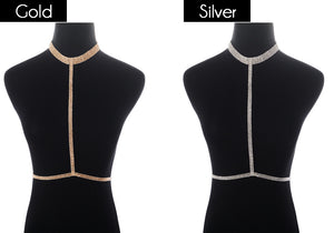 European and American foreign trade jewelry fashion sexy body chain