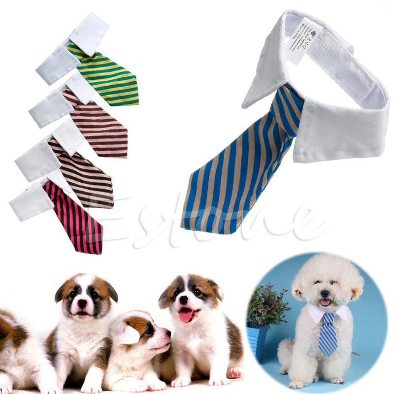 Gentleman Pet Supplies Puppy Necktie Small Dog Costumes Clothes Tie for Dog Cat