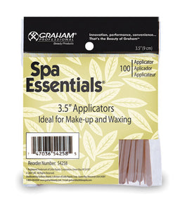 "Spa Essentials 3.5"" Applicators"