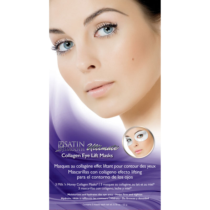 Satin Smooth Collagen Eye lift Masks