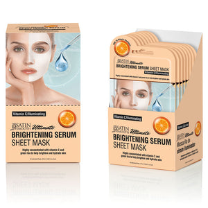 Satin Smooth Brighteing Serum Mask