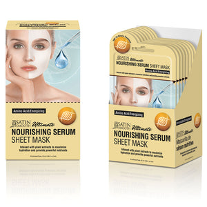 Satin Smooth Nourishing Serum Mask