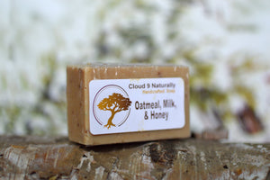 Cloud 9 Naturally Soap Oatmeal Milk and Honey