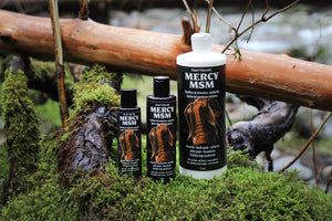 Mercy MSM Body Mineral and Herbal Soak Lotion