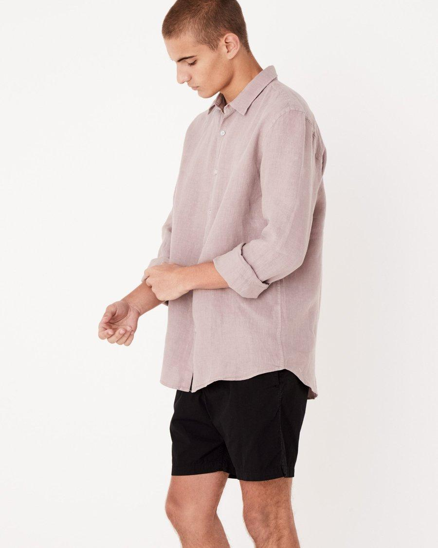 Casual Long Sleeve Shirt Fawn - Saint Street