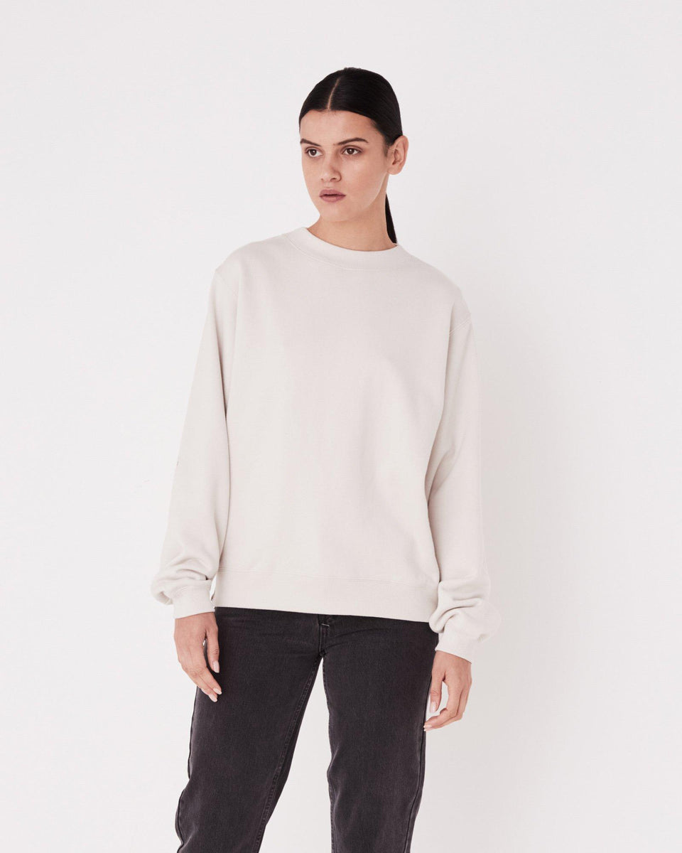 Allusive Fleece Chalk White - Saint Street