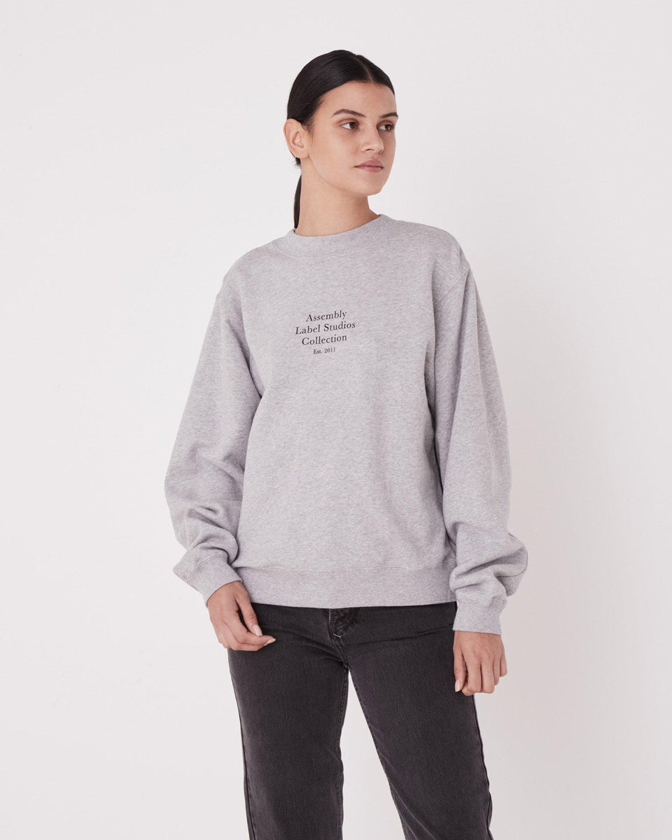 Stack Fleece Womens Grey Marle - Saint Street