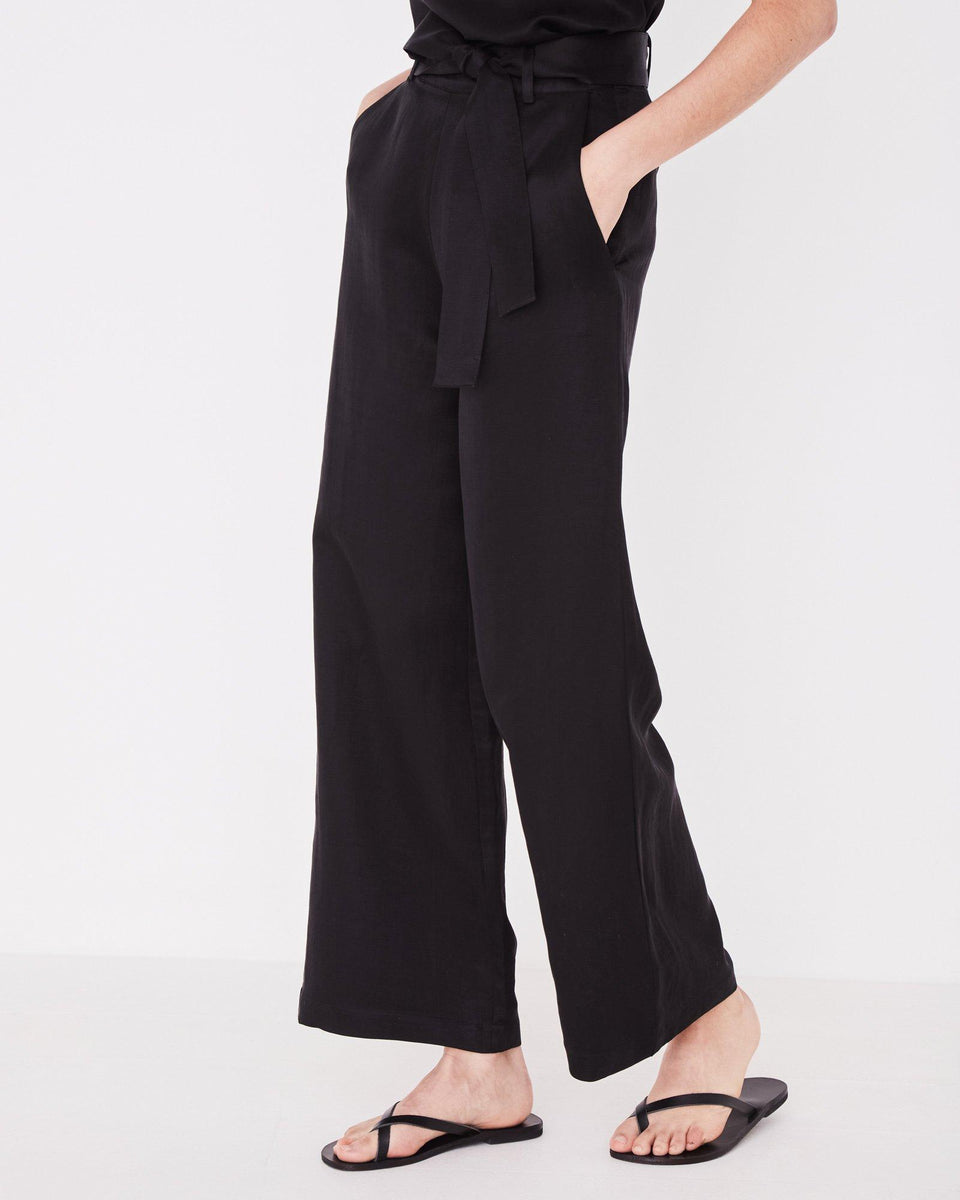 Column Pant Black - Saint Street