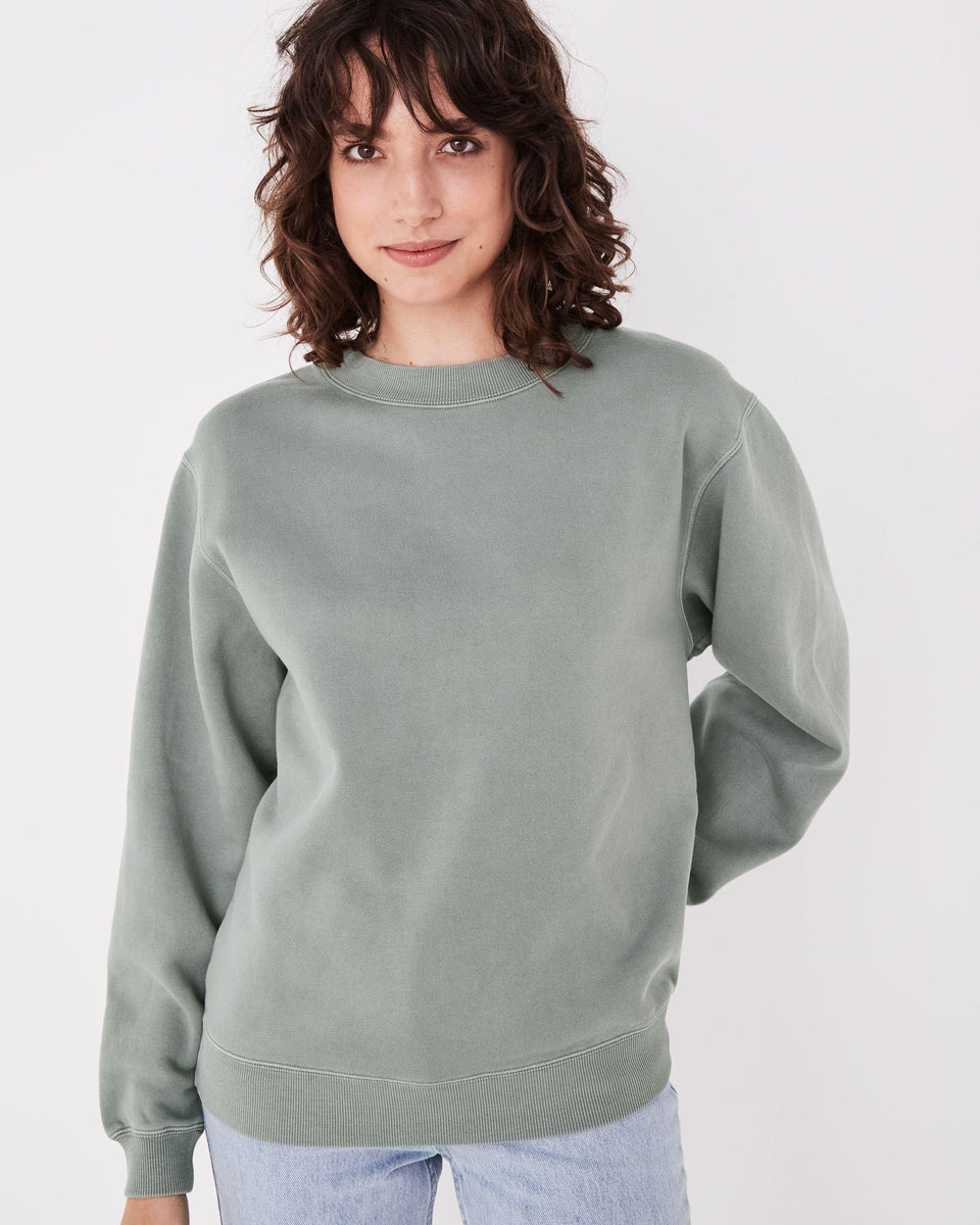 Jura Fleece Mineral Green - Saint Street