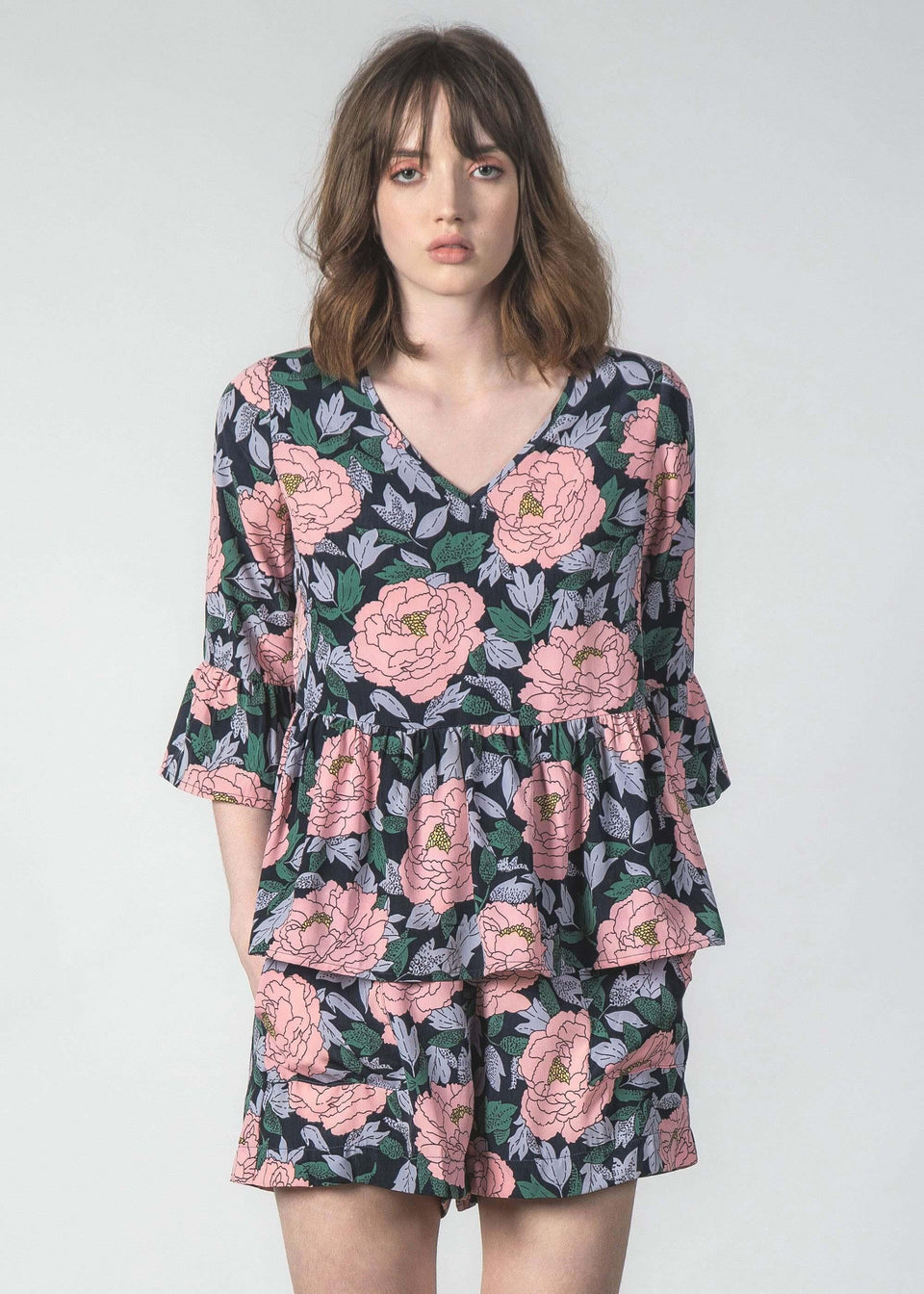 Molly Top Blush Peony
