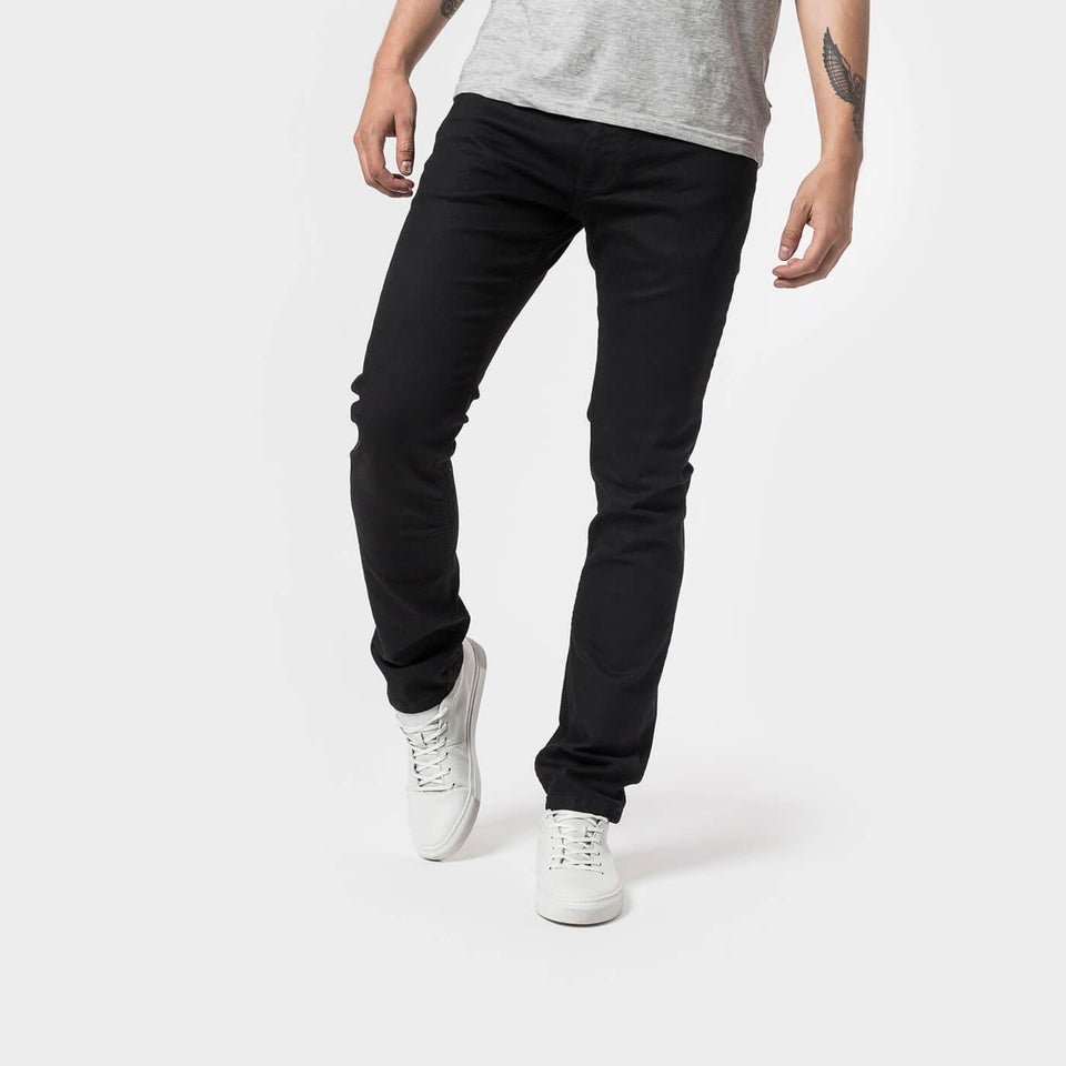 Anker Organic Denim Black Raw - Saint Street