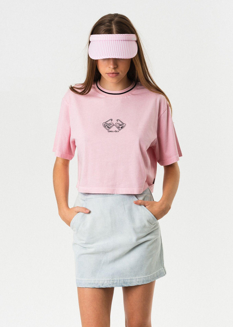Ana Rita Box Fit Tee - Saint Street