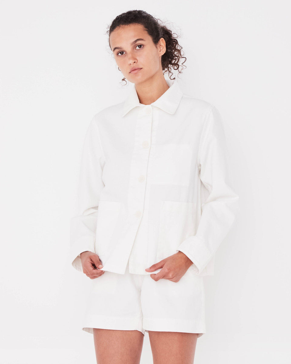 Booth Jacket Vintage White - Saint Street