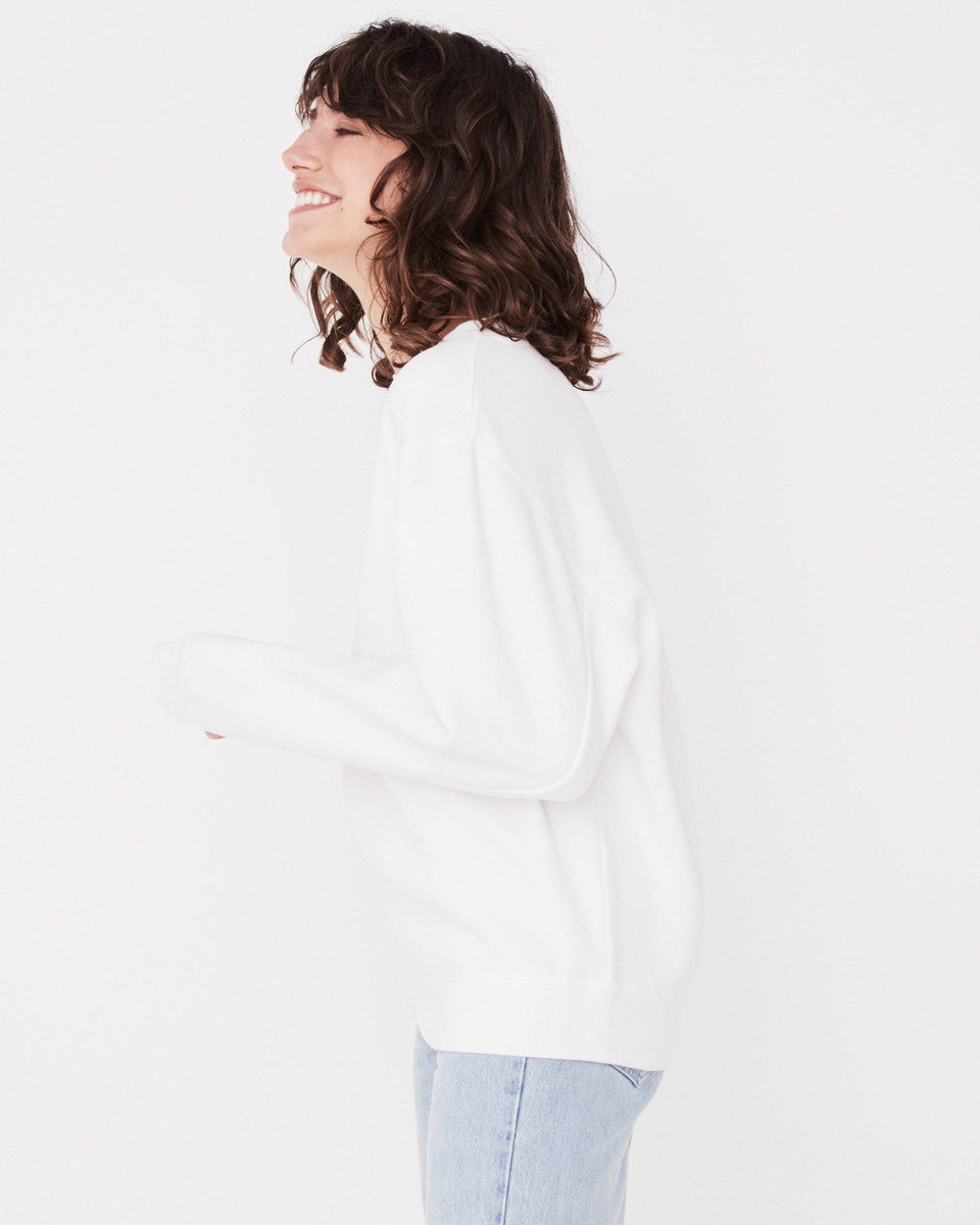Jura Fleece Vintage White - Saint Street
