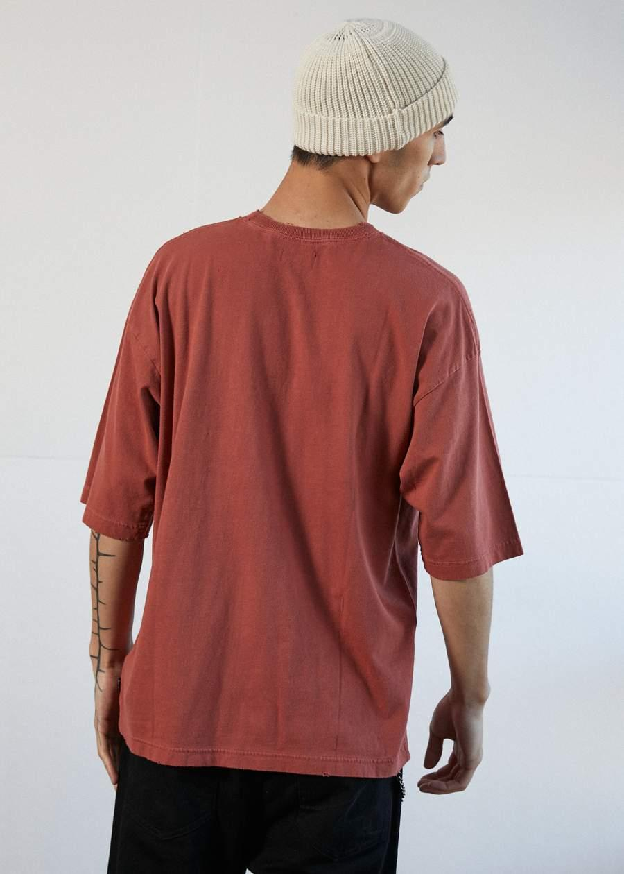Distressed - Oversized Tee - Saint Street