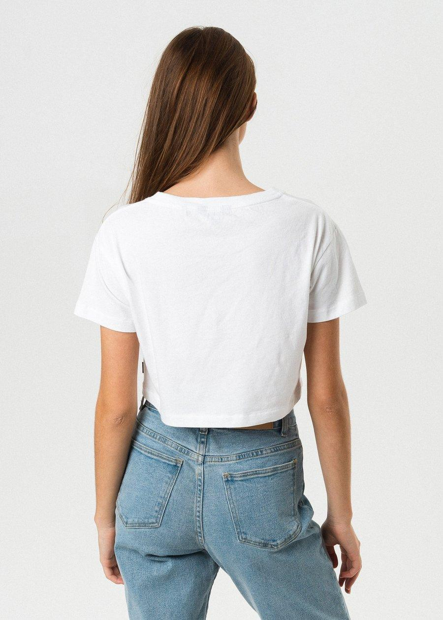Sunshine Soon Wide Neck Cropped Tee - Saint Street