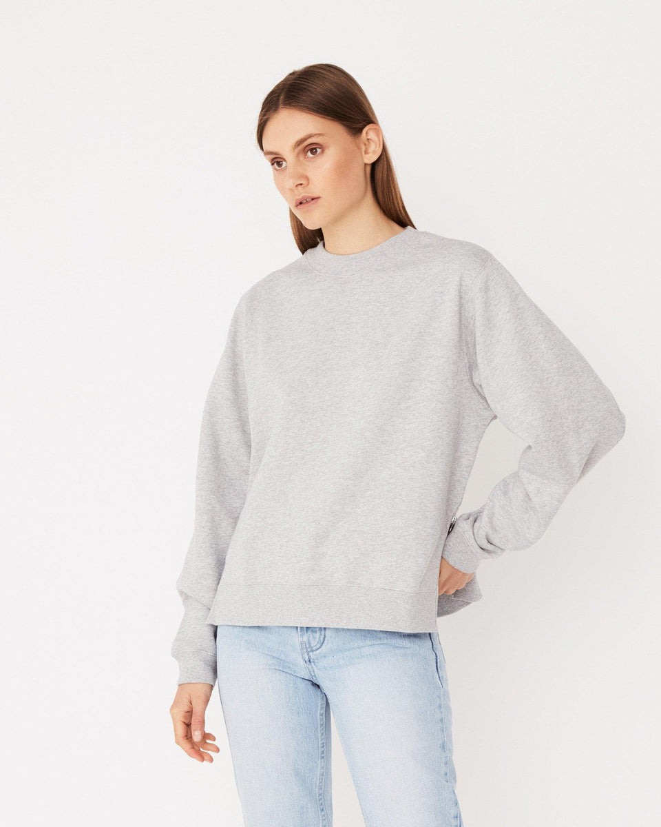 Allusive Fleece Grey Marle - Saint Street