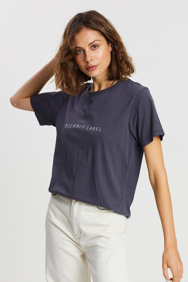 Finery Tee Worn Navy - Saint Street