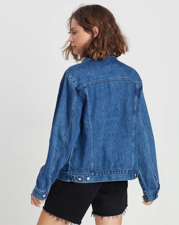 Maicy Denim Jacket Tasman - Saint Street