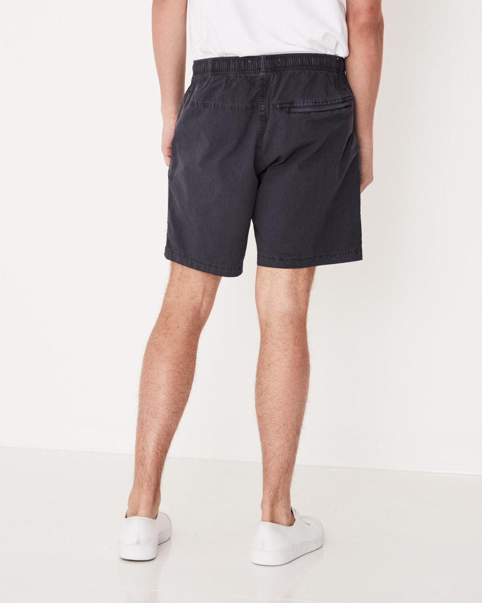 Ocean Swim Short Worn Navy - Saint Street