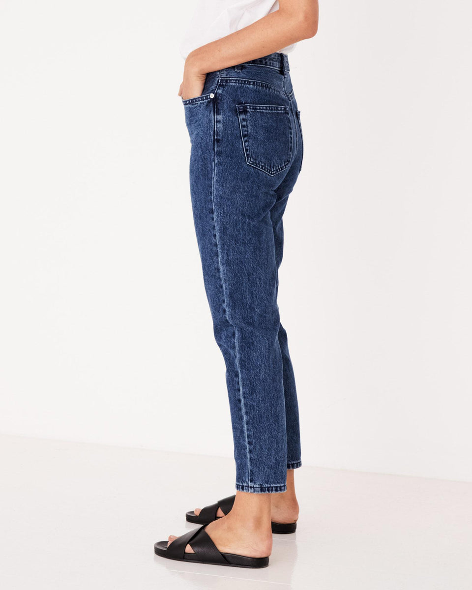 High Waisted Rigid Jean Tasman - Saint Street