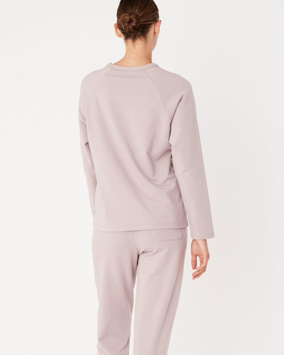 Kin Fleece Top Fawn - Saint Street