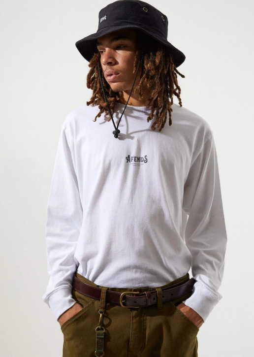 Candy - Retro Fit Long Sleeve Tee - Saint Street