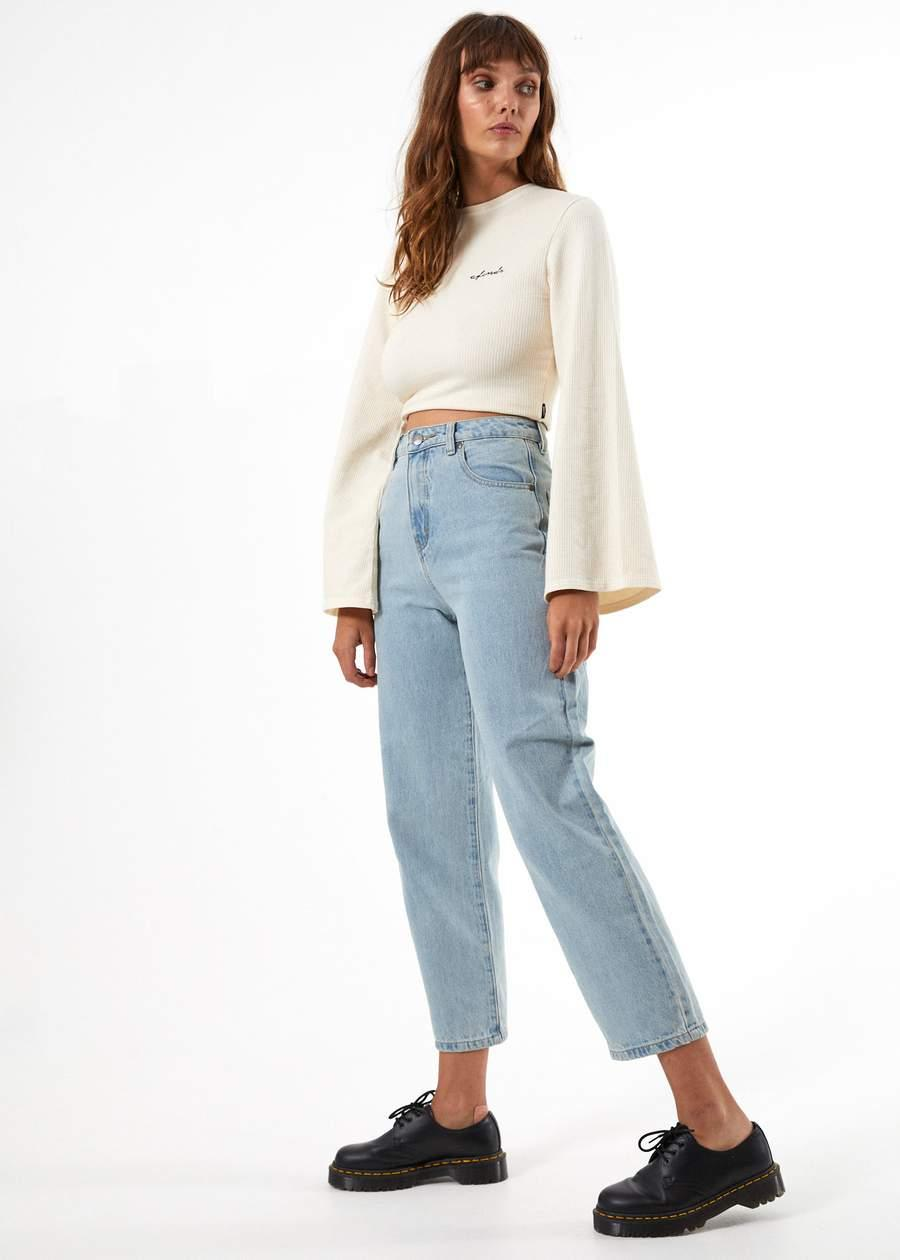 Shelby - High Waist Wide Leg Jeans - Saint Street