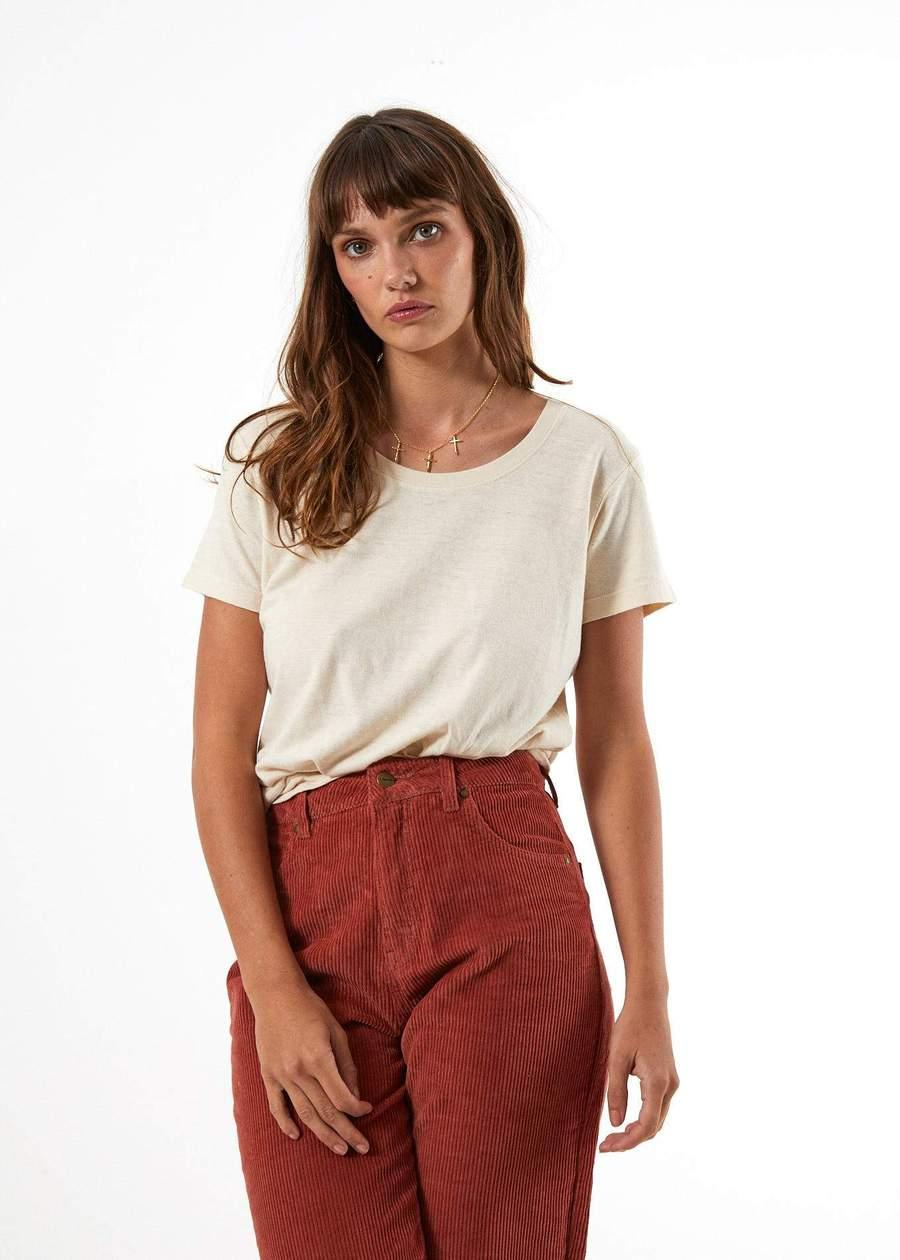 Shelby - High Waist Wide Leg Corduroy Pant - Saint Street