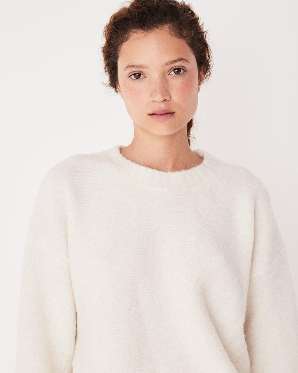 Textured Knit Chalk White - Saint Street