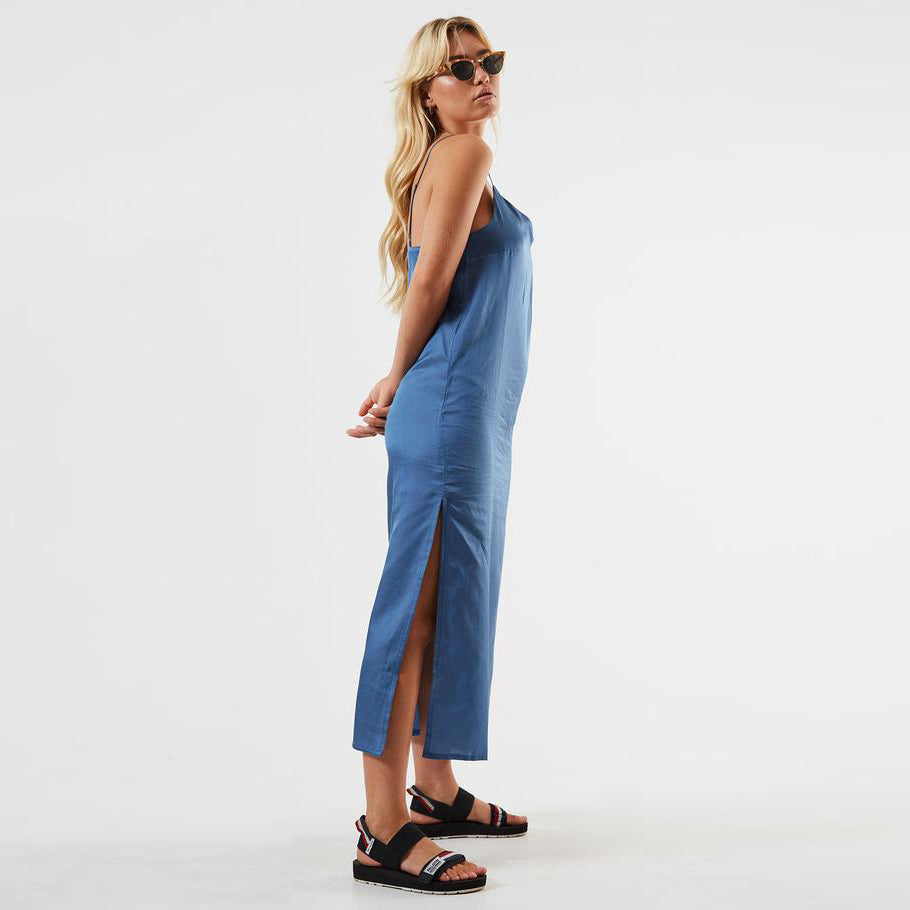 Dana Silk Slip Dress - Saint Street