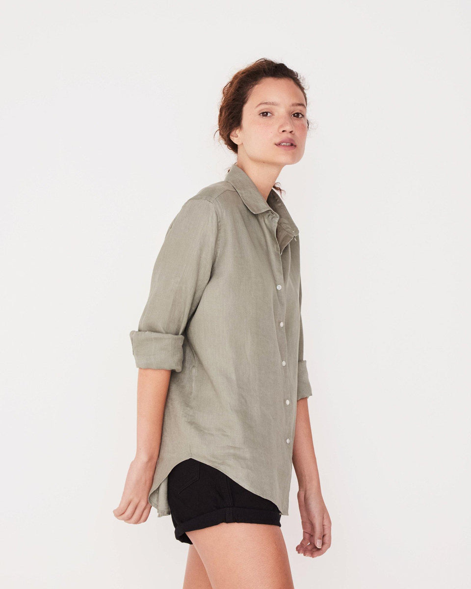 Xander Long Sleeve Shirt Seagrass - Saint Street