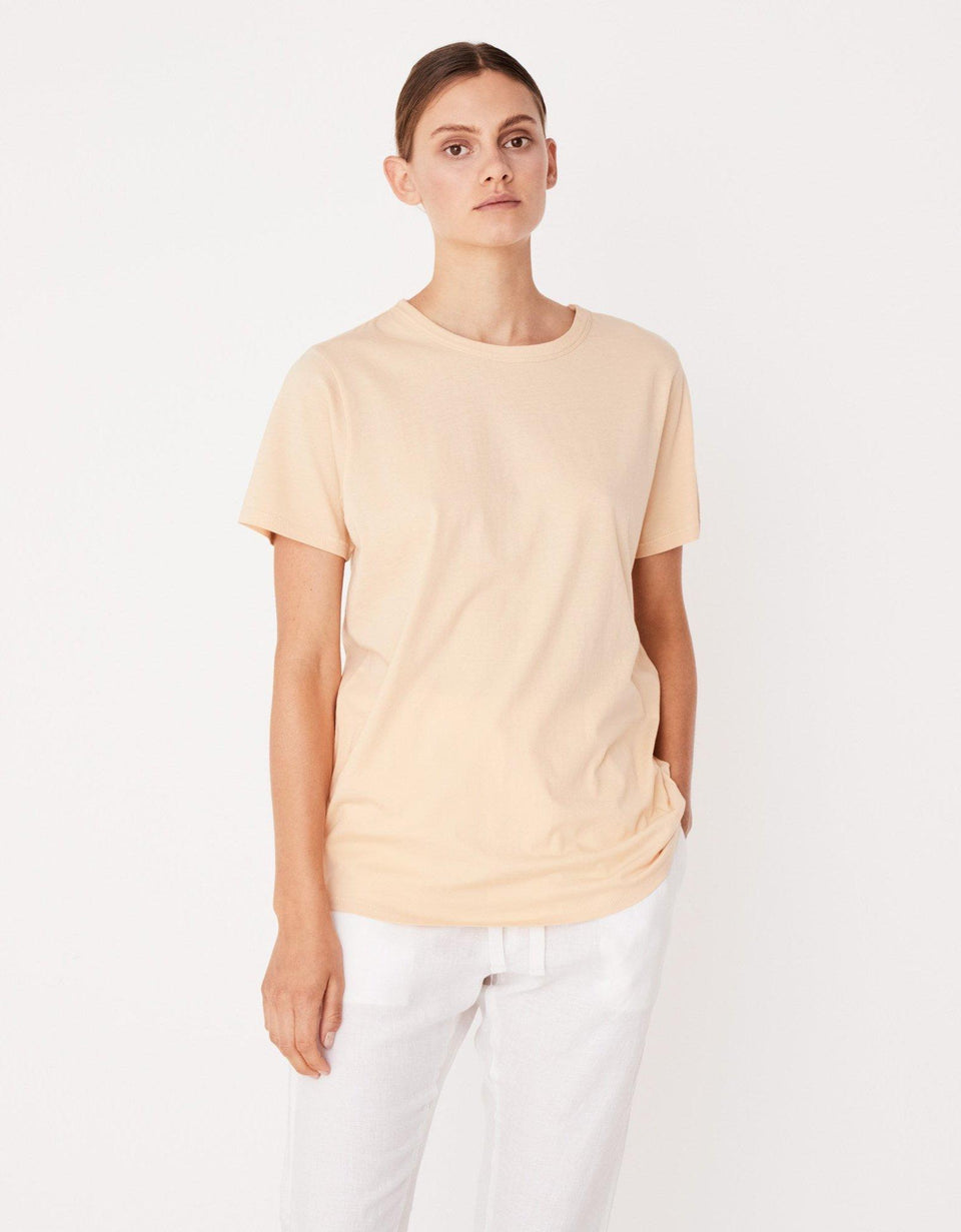 Everyday Tee Apricot - Saint Street