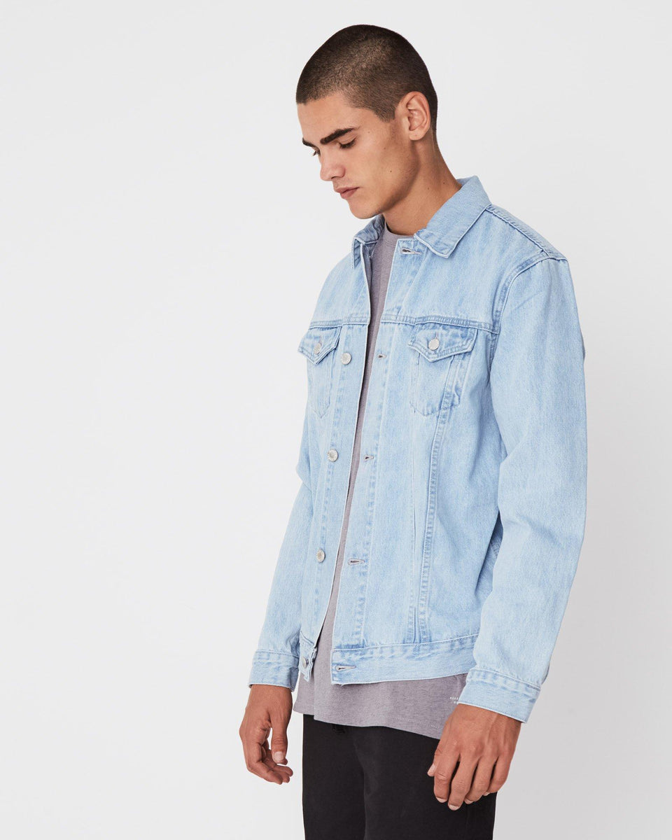 Homme Denim Jacket Pacific Blue