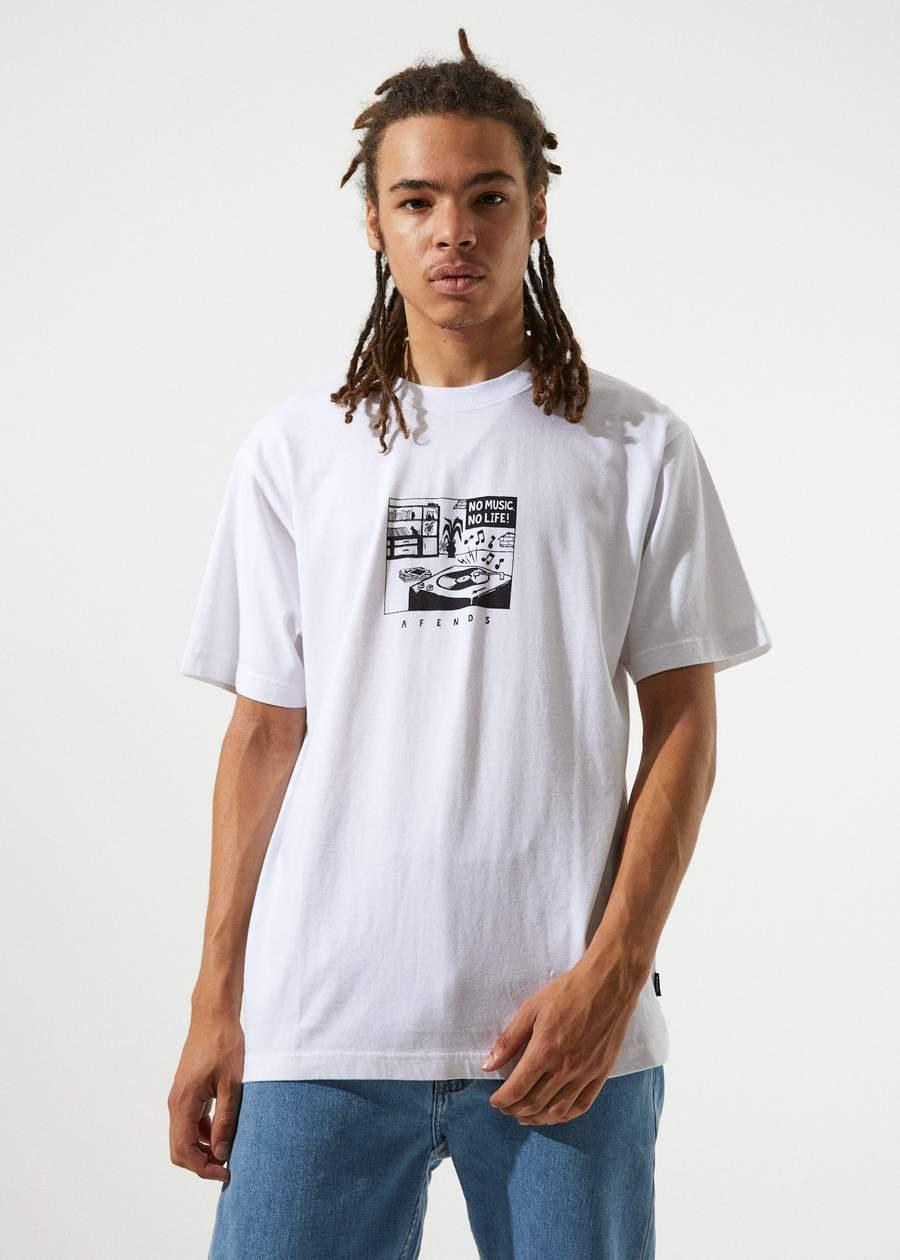 No Music - Retro Fit Tee - Saint Street