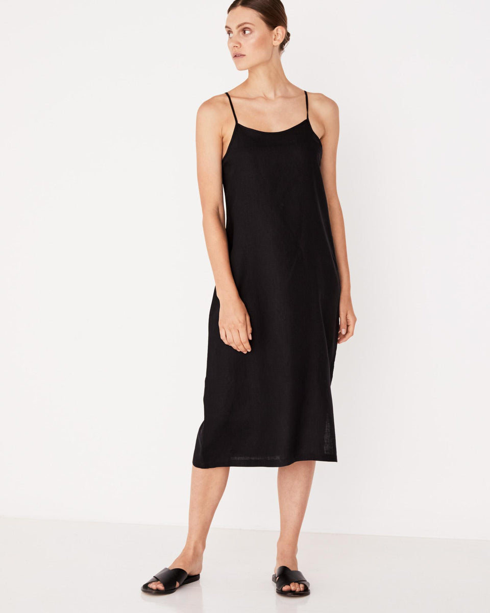 Anton Camisole Dress Black - Saint Street