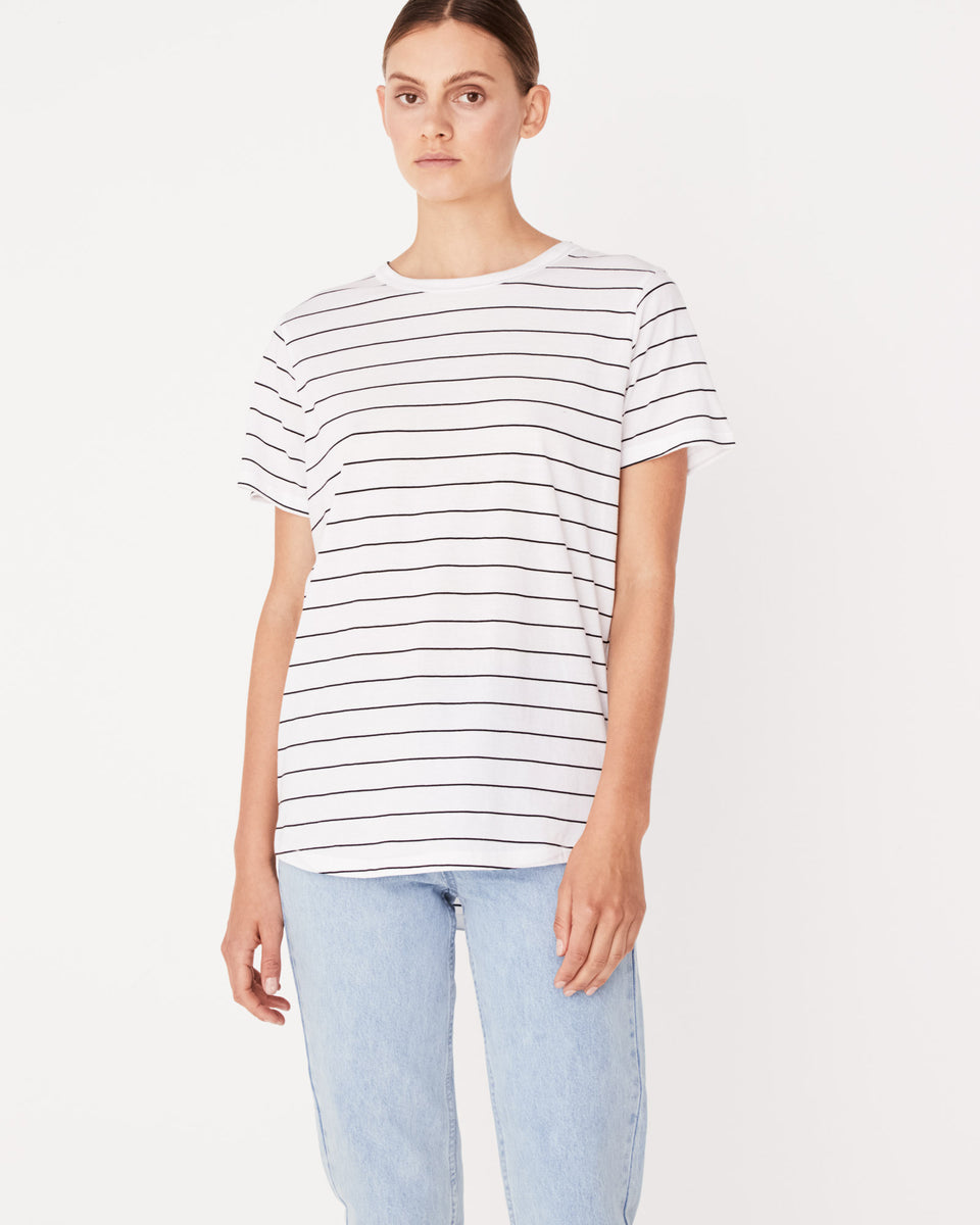 Everyday Tee Vanna Stripe - Saint Street