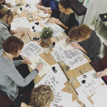 Load image into Gallery viewer, Beginners Brush Lettering Workshop - Saturday 23rd November - Market Harborough PM