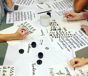 Beginners Brush Lettering Workshop - Saturday 23rd November - Market Harborough PM