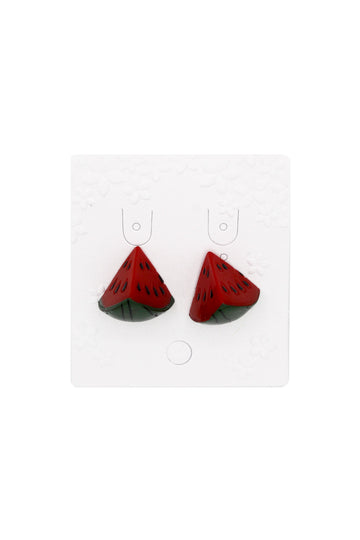 Wendy Watermelon Earrings