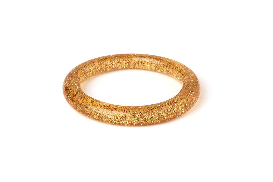 2 Pack Pale Gold Glitter Maiden Bangle - Lulu Hun Vintage Shoes