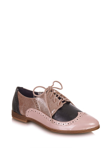 Amy Brogues - Lulu Hun Multicoloured Vintage Brogues