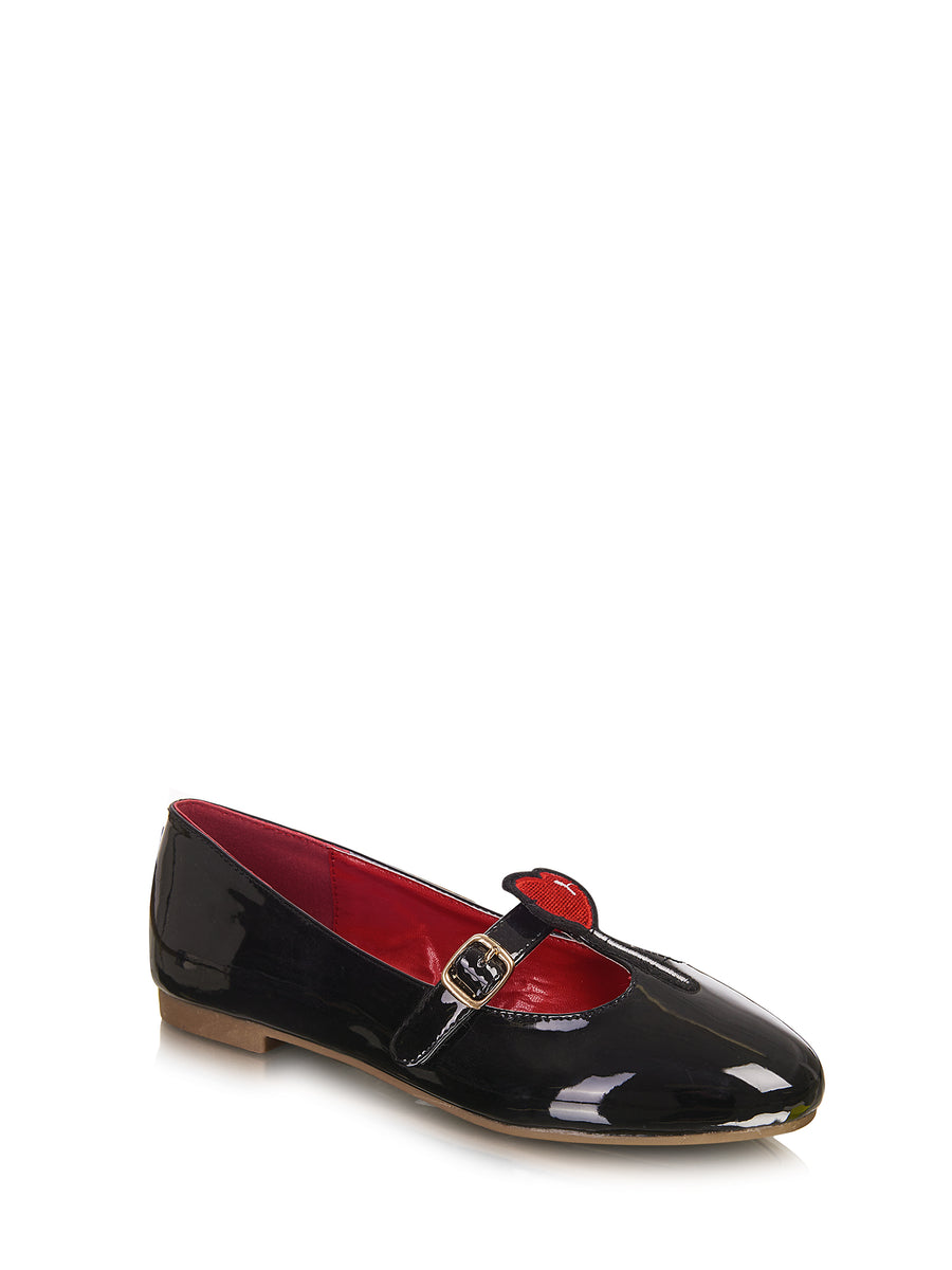 Lalla T Bar Flats - Lulu Hun Vintage Shoes