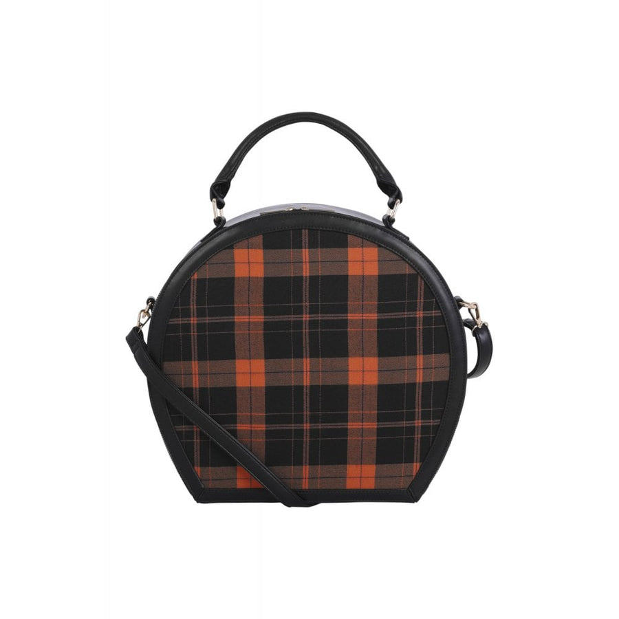 Alexandria Check Pumpkin Bag