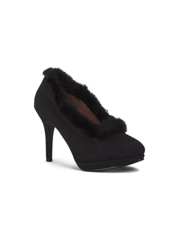 Angelina Faux Fur High Heel