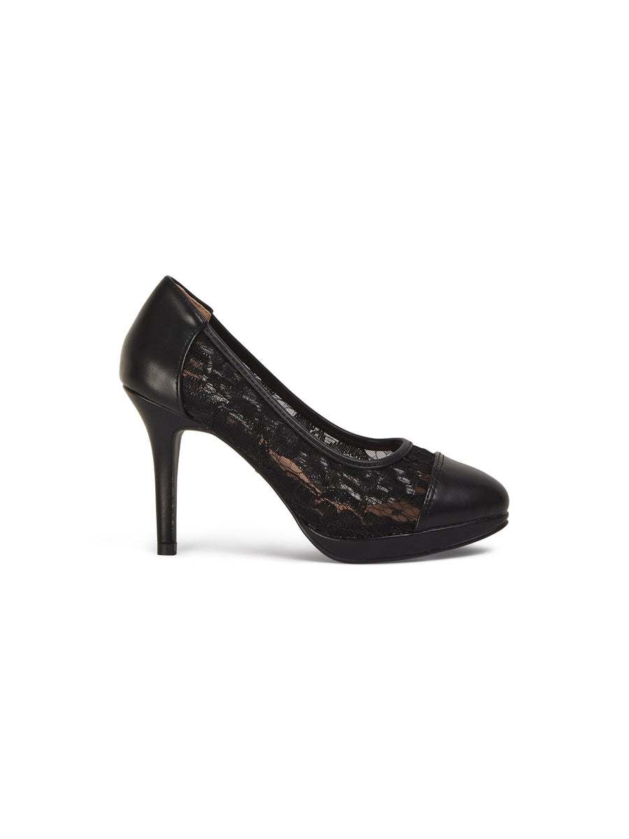 Betty Lace High Heel
