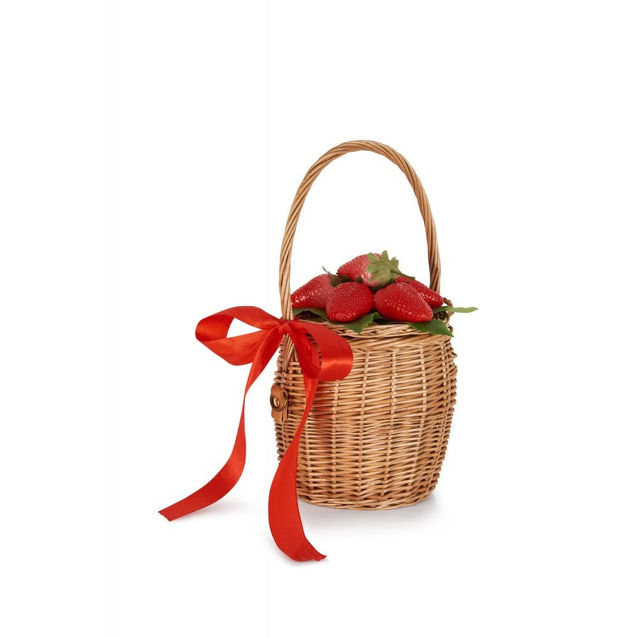 Dina Strawberry Basket Bag
