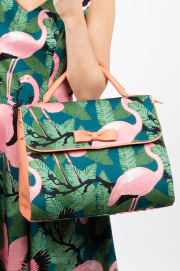 Flirty Flamingo Handbag